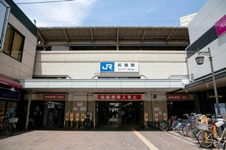 JR兵庫駅を南側へ